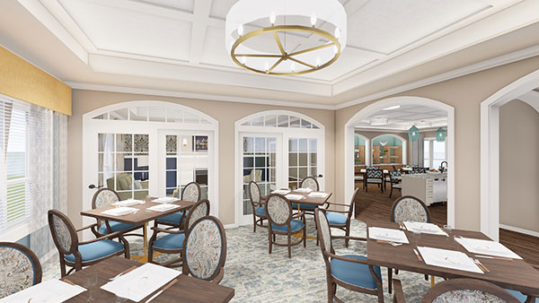 Dining Room at Whitestone